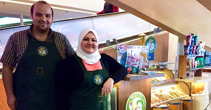 Nutty Bavarian subsidia entrada de franqueados refugiados