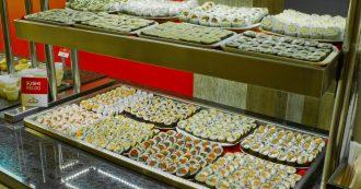 Franquia aposta em buffet de sushi a 1 real