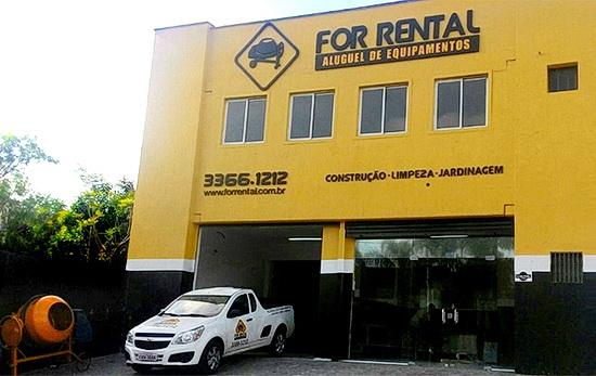 For Rental Aluguel de Equipamentos