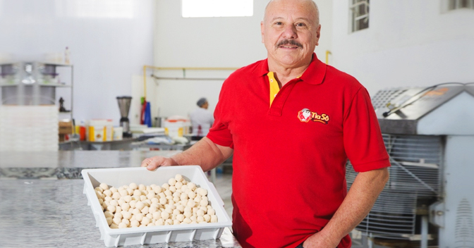 Demitido aos 56 anos, ele empreendeu e fatura R$ 15 mi por ano